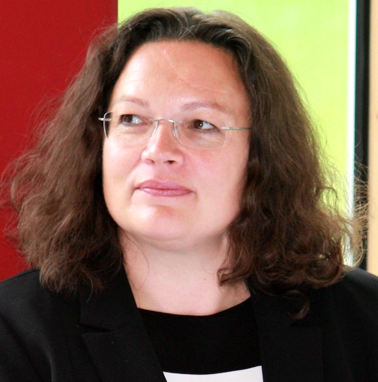 """Andrea Nahles Ein """"katholisches Mädchen"""" Für SPD Das"""